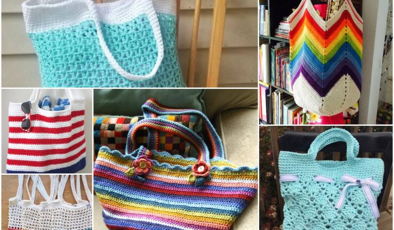 Most Attractive Tote Collection Free Crochet Patterns
