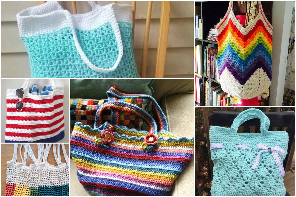 Most Attractive Tote Collection Free Crochet Patterns Best 10 Diy