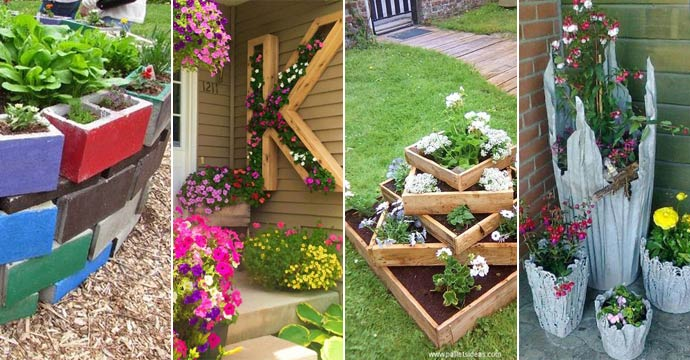 Most popular Gardens DIY Bed or Planter Ideas