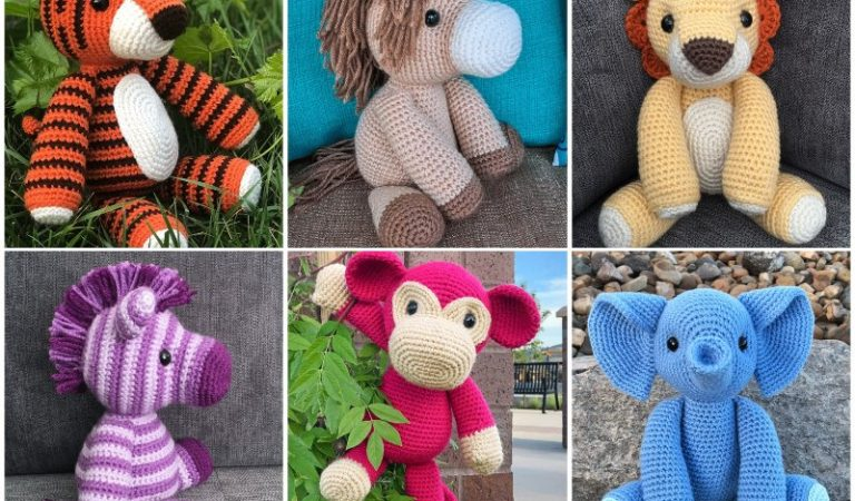 Amirugumi Zoo Collection Free Crochet Patterns