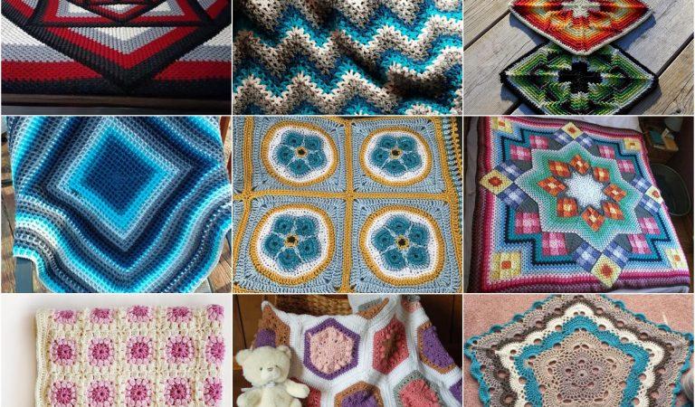 10 Most Trending Afghans Free Crochet Patterns