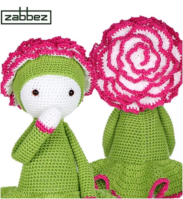 RAINBOW FLOWER Amigurumi Pattern Crochet Doll Pattern | Etsy | 652x600