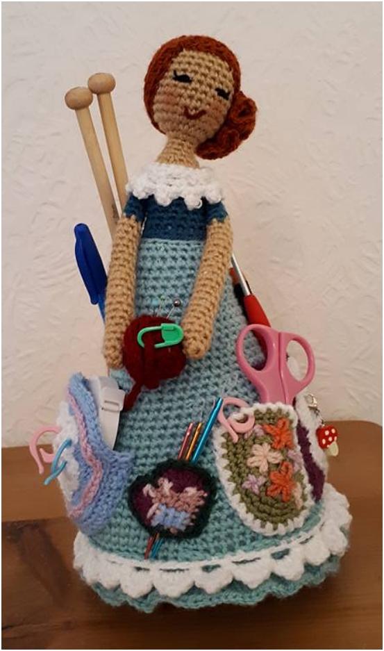 Crochet : Gorjuss amigurumi by Ahookamigurumi on DeviantArt   937x553