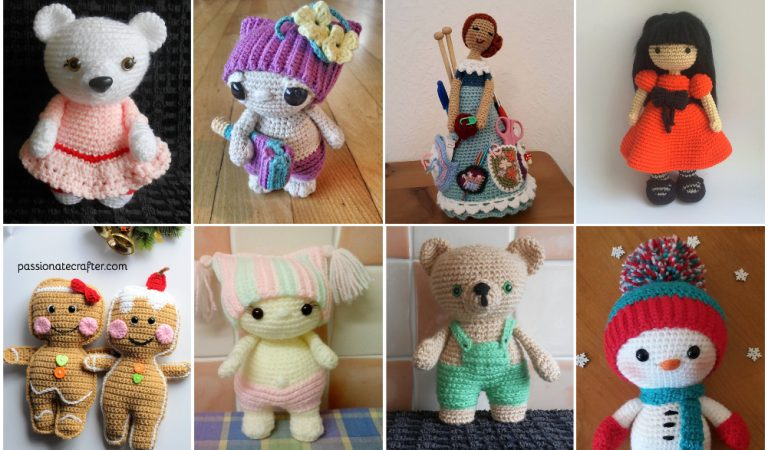Crochet Dolls Collection Most Popular Patterns