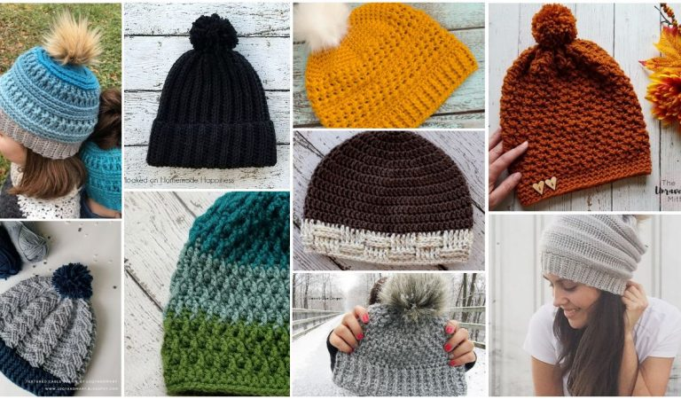Beanie Hat Keep Warm Crochet The Great Collection