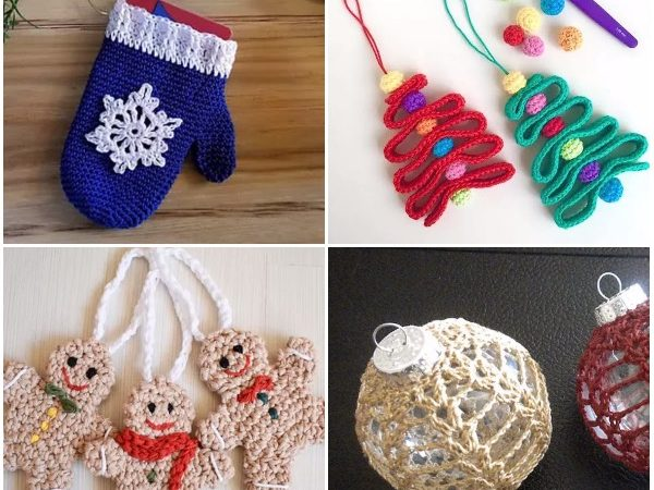 10 Hot Free Christmas Ornaments Crochet Patterns