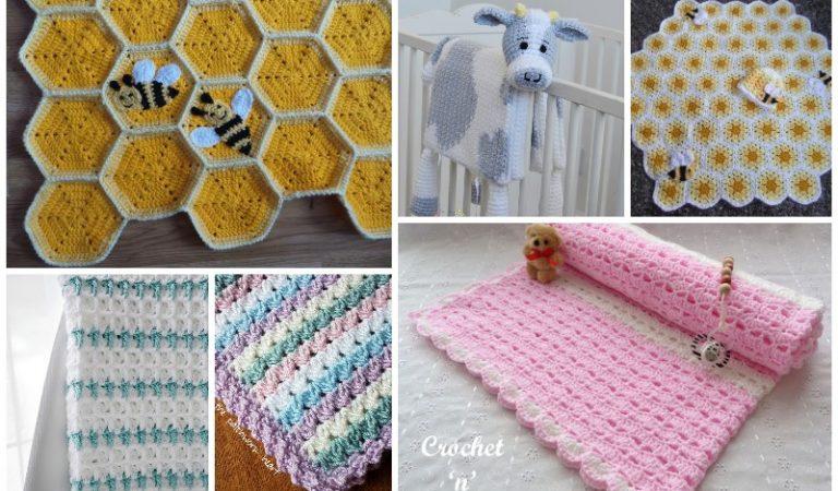 Super Cute 10 Crochet Baby Crochet Blankets